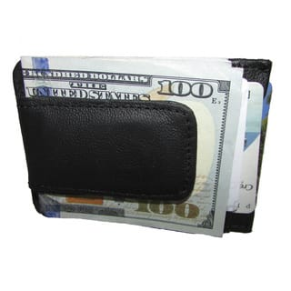 Continental Leather Executive Money Clip Front Pocket Bifold Wallet|https://ak1.ostkcdn.com/images/products/10700567/P17761411.jpg?impolicy=medium