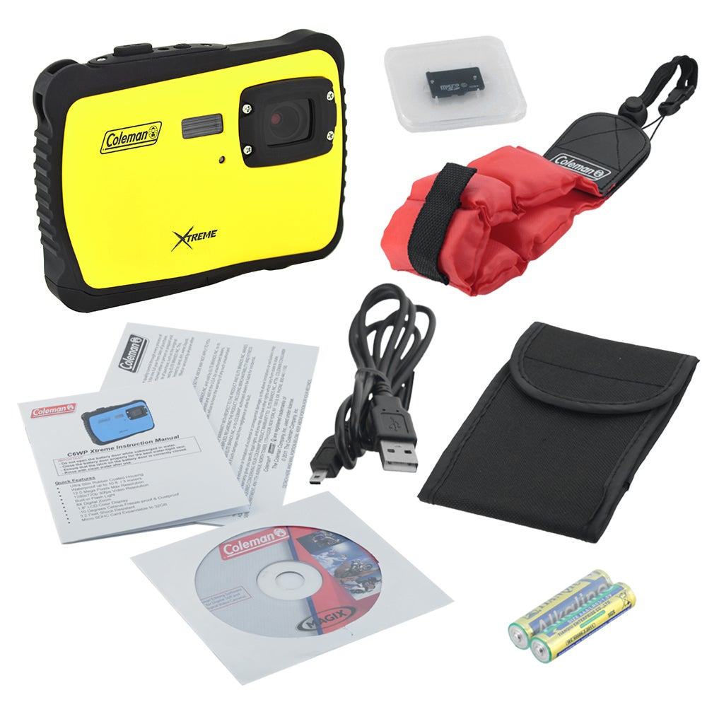 Coleman Xtreme C6WP 12 MP Waterproof Digital Camera with ...