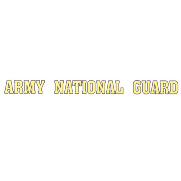 United States Army National Guard Car Decal
