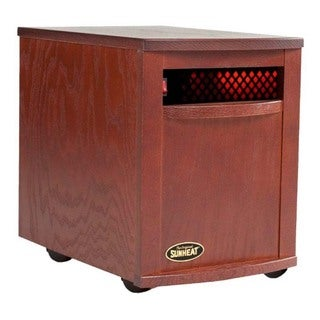The Original SUNHEAT USA1500 Mahogany Infrared Heater