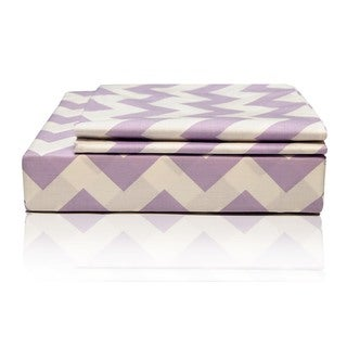Chevron Egyptian Cotton Sheet Set