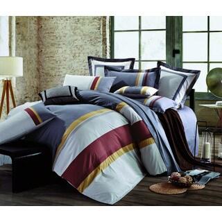 Awning Stripe 5-piece Comforter Set