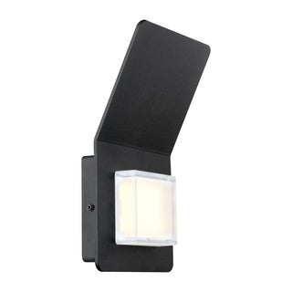 Eglo Pias 2-light 2.5W LED Outdoor Wall Light with Black Finish