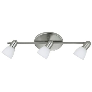 Eglo Dakar 3-light Track Light in Matte Nickel