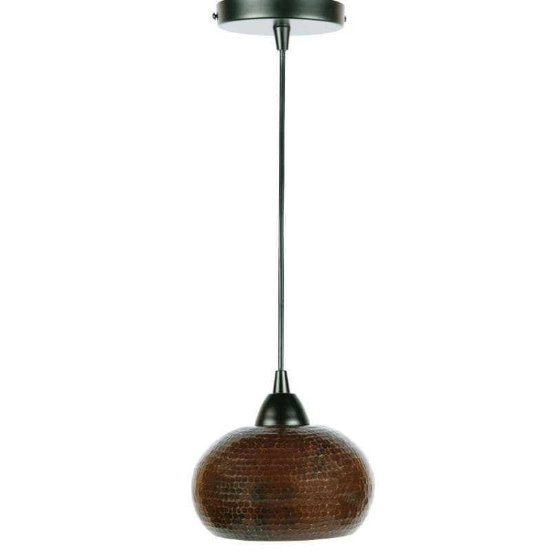 Premier Copper Products Hand Hammered Copper 7-inch Globe...