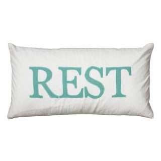 Rizzy Home Novelty Throw Pillow