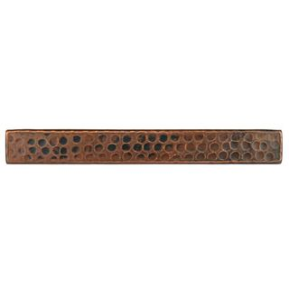 Premier Copper Products 1-inch x 8-inch Hammered Copper Tile (Set of 8)