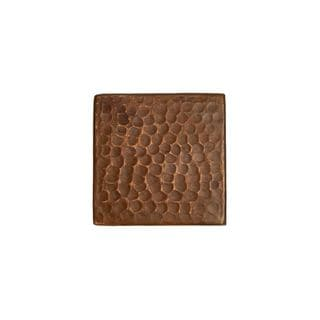 Premier Copper Products 3-inch x 3-inch Hammered Copper Tile (Set of 8)