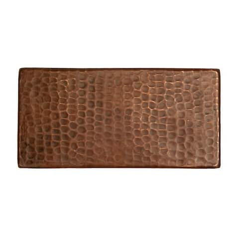 Premier Copper Products 3-inch x 6-inch Hammered Copper Tile (Set of 4)