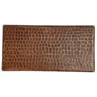 Premier Copper Products 4-inch x 8-inch Hammered Copper Tile (Set of 4)