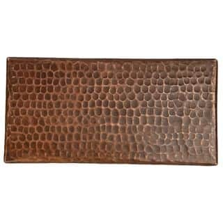 Premier Copper Products 4-inch x 8-inch Hammered Copper Tile (Set of 8)|https://ak1.ostkcdn.com/images/products/10701185/P17761904.jpg?impolicy=medium