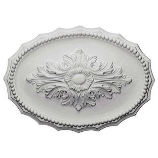 Oxford 17-inch Decorative Oval Medallion