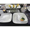 Corelle Square Jacaranda 16-Piece Dinnerware Set