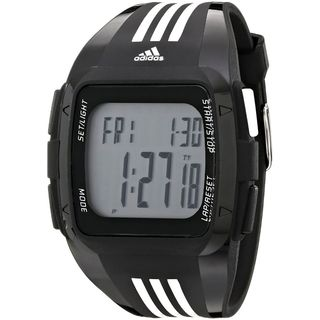 Adidas Men's ADP6089 'Duramo XL' Digital Black Polyurethane Watch