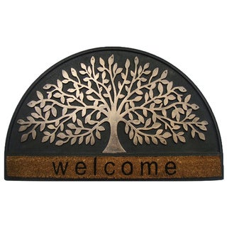 First Impression Shredding Leaf Designer Indoor Doormat (1'6 x 2'6)