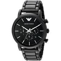 Emporio Armani Men's AR1895 'Classic' Chronograph Black Stainless Steel Watch