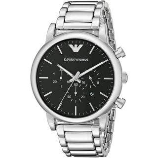 Emporio Armani Men's AR1894 'Classic' Chronograph Stainless Steel Watch|https://ak1.ostkcdn.com/images/products/10701399/P17762147.jpg?impolicy=medium