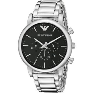 Emporio Armani Men's AR1894 'Classic' Chronograph Stainless Steel Watch
