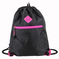 Eastsport Drawstring Sackpack with Diamond Patch