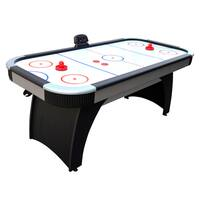 Hathaway Silverstreak 6-ft Air Hockey Table - WHITE/BLACK