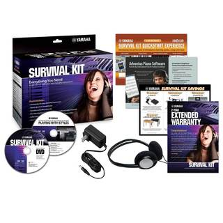 Yamaha - SK C2 Survival Kit Accessory Pack for Keyboards