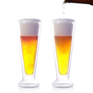 Eparé 12-oz Double-Wall Tall Glass Set of 2