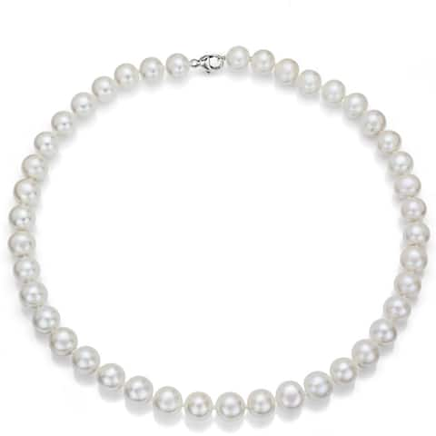 85f06e1e1a398 Buy 18 Inch Pearl Necklaces Online at Overstock | Our Best Necklaces ...