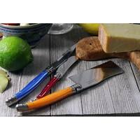 French Home 3 Piece Laguiole Cheese Set - Multi Color