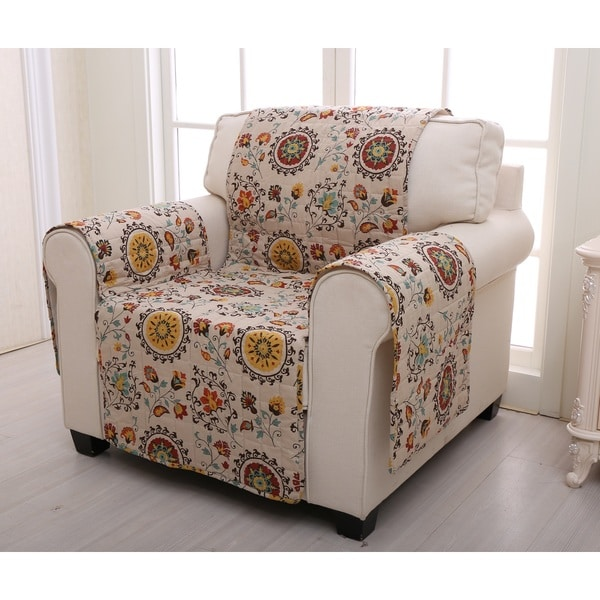 Greenland home fashions andorra armchair protector free for Fitted bedroom furniture 0 finance
