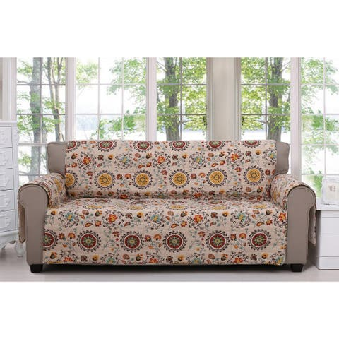 Greenland Home Fashions Andorra Furniture Sofa Protector