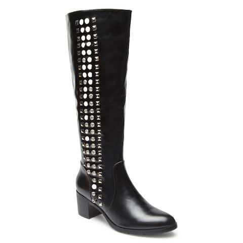 Ann Creek Womens Aero Rhinestone And Stud Boots by  Find