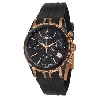 Edox Women's 10410-357RN-NIR Rubber Watch