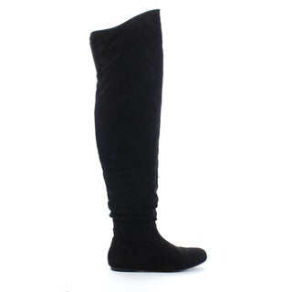 DA VICCINO TOP-01-HI Women's Slouchy Over The Knee High Boots Half Size Small