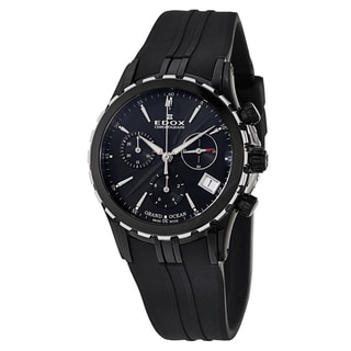 Edox Women's 10410-357N-NIN Rubber Watch