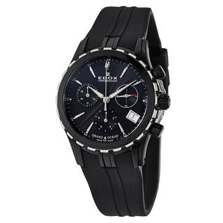 Edox Women's 10410-357N-NIN Rubber Watch|https://ak1.ostkcdn.com/images/products/10701949/P17762581.jpg?impolicy=medium