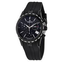 Edox Women's 10410-357N-NIN Rubber Watch