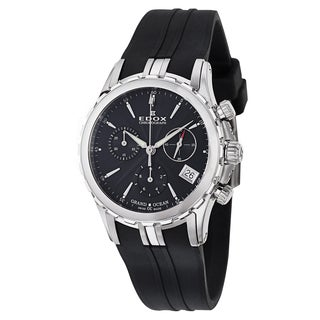Edox Women's 10410-3-NIN Rubber Watch
