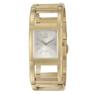 Calvin Klein Women's K5912220 Gold Watch