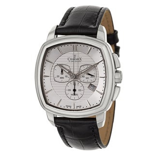 Charmex Men's 2530 Leather Watch