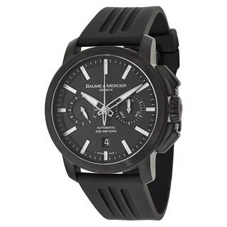 Baume & Mercier Men's MOA08853 Rubber Watch