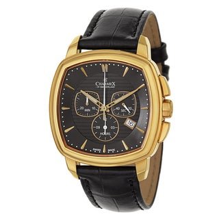Charmex Men's 2526 Leather Watch