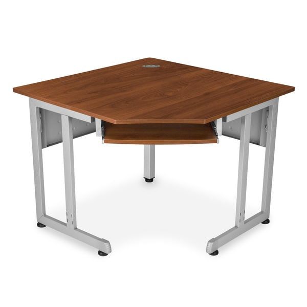 Sided 30-inch x 30-inch Corner Desk - Free Shipping Today