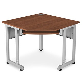 5-Sided 24-inch x 24-inch Corner Desk