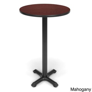 24-inch Round X Style Base Cafe Table