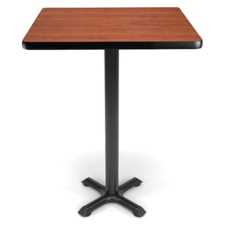 30-inch Square X Style Base Cafe Table
