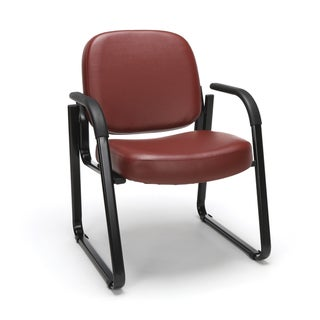 Anti-Microbial/Anti-Bacterial Vinyl Guest/Reception Chair with Arms
