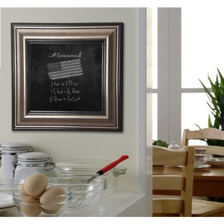 American Made Rayne Antique Silver Blackboard/Chalkboard
