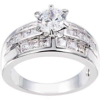Simon Frank Beautiful Light Collection Cubic Zirconia Ring