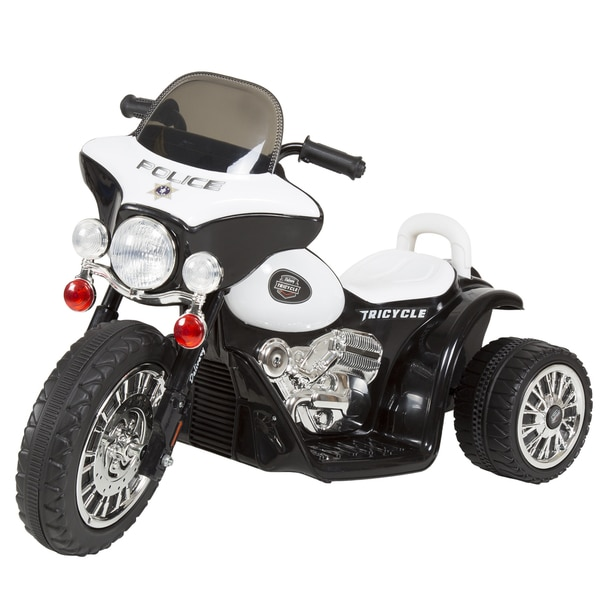 3 Wheel Mini Motorcycle for Kids, Battery Powered Ride on Toy by Rockin? Rollers ? Toys for Boys & Girls? Police Car. Opens flyout.