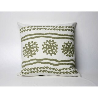 Lace 20-inch Throw Pillow